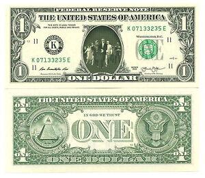 OCEAN 12 - VRAI BILLET DOLLAR US ! Twelve Acteur Cinéma G Clooney Eleven 11 13
