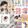 1 Set Hairpin Baby Girl Hair Clip Bow Flower Mini Barrettes Star Kids Headwear