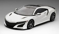 TSM 2017 Acura Nsx 130R White Carbon Fiber Package LHD LE of 300 1/12 Scale New!