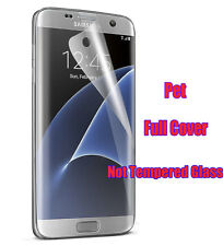 Full Screen Protector Protective Film For Samsung Galaxy S7 Edge Plastic Pet Pc