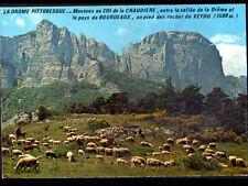 COL de LA CHAUDIERE (26) BERGER & MOUTONS au ROCHER du VEYOU