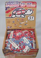 Box of 100 Trrtlz Turtle Bracelets, 4 different colors in Display Box