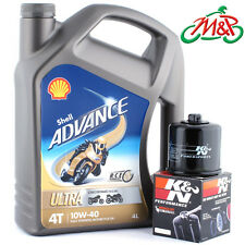 Z 1000 ZR1000A1H 2003 K&N Filter and Shell Ultra Oil Kit