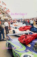 Porsche Pit Lane Area Le Mans 1971 Photograph