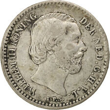 [#45720] Pays-Bas, Willem III, 10 Cents 1887, KM 80
