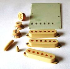 Aged Parts Set Worn White GuitarSlinger Parts Fits To Strat ®