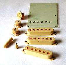 Aged Parts Set Worn White GuitarSlinger Parts Fits To Strat ®