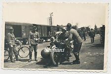 Foto Soldaten Motorrad/Krad 2.WK (1508)