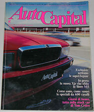 AUTOCAPITAL 11/1990 JAGUAR XJR – FIAT TIPO 1.8 i.e. GT - MASERATI 4.24 - BMW 327