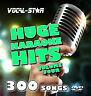 KARAOKE HD DVD DISC SET - VOCAL-STAR HUGE HITS VOL 4- 300 HITS 10 DISCS RRP£59