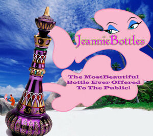 NEW MIRRORED RICH PURPLE I DREAM OF JEANNIE/GENIE BOTTLE! *** HOLIDAY SPECIAL!