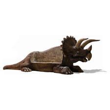 TRICERATOPS SITZBANK 480 cm Dino DINOSAURIER SAURIER Deko Garten Tier WERBEFIGUR
