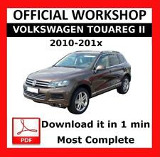 >> OFFICIAL WORKSHOP Manual Service Repair Volkswagen Touareg II 2010 - 2017