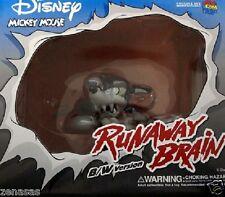 New Medicom Toy VCD MICKEY MOUSE Runawey Brain B/W ver. PVC