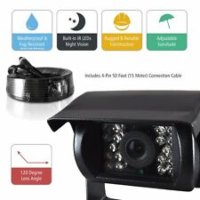 Pyle Plcmtr5 Commercial-grade Weatherproof Backup Safety Driving Camera With