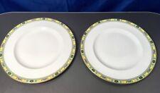 Minton Ashworth set 2 Flat Plate in Fine Bone China Piatti piani NEW - 30%