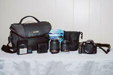 Nikon D3300 24.2 MP Digital SLR Camera - COMPLETE CAMERA BUNDLE - TWO LENSES