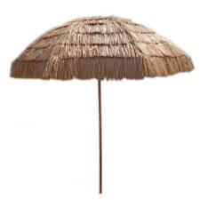 8 ft Tiki Umbrella Hawaiian Impact Canopy Pool Yard Patio Summer Outdoor Beach