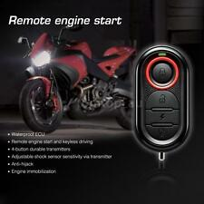 Steelmate 986E 1 Way Anti-theft Motorcycle Alarm System Remote Engine Start W8N2