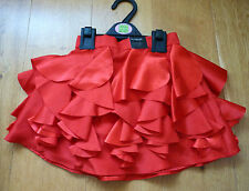 BNWT M&S Autograph Stunning Red Party Skirt, Size 2-3 yrs, Brand New!