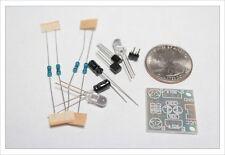 DIY Electronic Kit - 2pc Mini Multivibrator circuit oscillator bright LED flashe