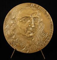 Medal Jacques Lemercier Architect Plan de La Town and Castle of Richelieu