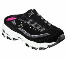 Zueco Negro Skechers D 'Lite Zapatos para mujer Slip On Comfort Sandal de espuma de memoria 11940