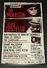 Van Morrison Elvis Costello Ben Harper  Concert Festival Poster 199 SF