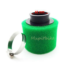 42mm Air Foam Filter Green For 110 125 140 150 160cc Go Kart ATV Pit Dirt Bike