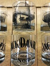 Set of 6 Jack Daniels limit addition glasses Brand New 2018 Style