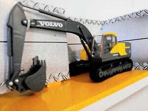 Diecast Metal Volvo EC220e Model Excavator Digger Construction1:50 Scale Bburago