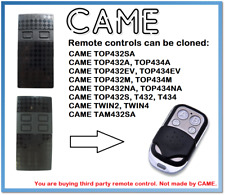 CAME TWIN2, TWIN4 Universal Remote Control Duplicator 4-Channel 433.92MHz.