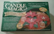 Candle Magic Perfect Poinsettia Candle Making Kit Vintage