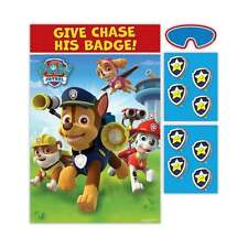 PAW PATROL Give Chase His Badge Childrens Boys Girls Birthday PARTY GAME