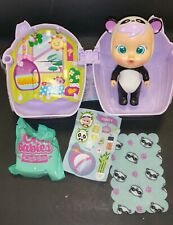 Cry Babies Magic Tears Pandy Panda In A Bottle House New!