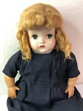 Antique Horsman Baby Doll Composition Soft Body Sleep Eyes