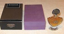 Vintage Guerlain Shalimar Perfume Bottle/Purple Boxes 1/2 OZ Sealed/Full - 1983