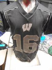 Gen2 Ncaa Youth Wisconsin Badgers Black Football Jersey Look S