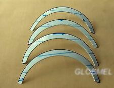 MERCEDES W210 E kl 95-02 saloon estate wheel arches fender trim chrome, ca