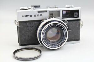 OLYMPUS 35 SP RF CAMERA, CLAD, SEALS SR. 111465 - FILM TESTED - NICE