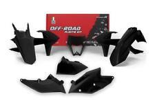KTM EXC 17 - 18 Negro Racetech Kit Plástico con máscara de faros