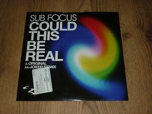 """SUB FOCUS - Could This Be Real (Original & Joker Mix) - UK 12"""" - RAM RAMM82P"""