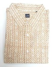John Ashford Beige Short Sleeve Causal Shirt 3XB Big & Tall Big 3X