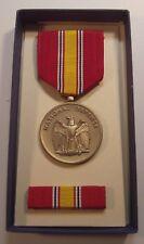 Vintage 1967 National Defense Service Medal Set in Box