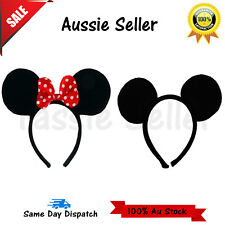 Mickey Mouse and Minnie Mouse Ears Headband Disney Costume Fancy Dress Children