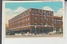 Hotel Warren Garden City KS  Kansas