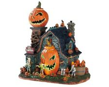 Lemax Spooky Town The Mad Pumpkin Patch with Adaptor # 75172