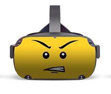 Vinyl Skin to fit Oculus Quest - Yellow Head Sticker / Decal / Skin