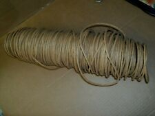 Vtg Brown/Golden Fiber Rush For Craft Seat Weaving Chairs Ladderbacks 4mm 3/16""