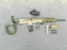 1/6 scale toy British Marine - Kabul Security - Bronze & Tan SA80 Rifle Set